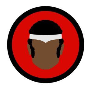 Super. Black. Power Man Icon