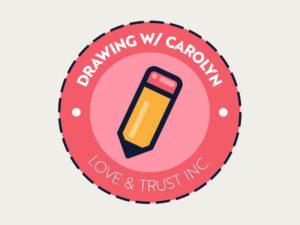 Drawing w/ Carolyn Logo