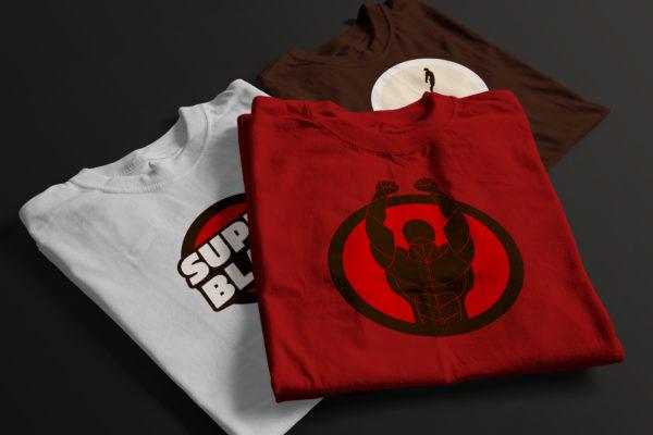 Super. Black. T-Shirts