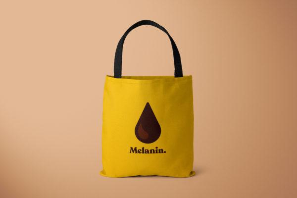 Melanin Yellow Tote