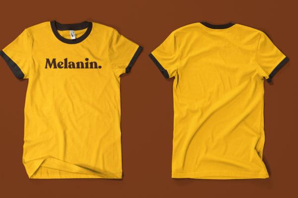 Melanin T-Shirt Concept